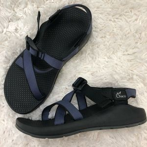Chaco Z1 Classic Single Strap Sandals in Blue Sz 7